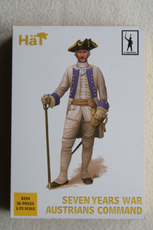 HaT 1/72 HAT8324 Austrian Infantry Command (7 Year War)